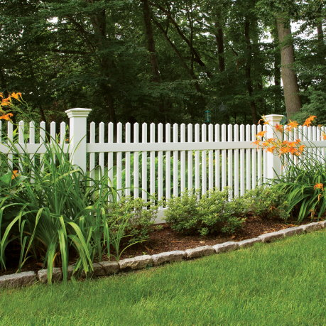 massachusetts decorative fence - project photo