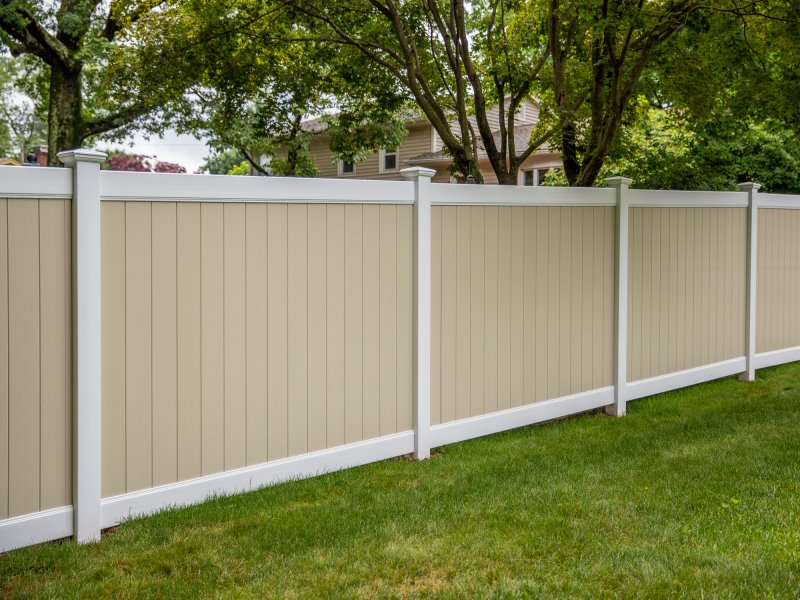 Popular Vinyl Pool Fence Cottonwood Style Selected by our Massachusetts and New Hampshire Residents