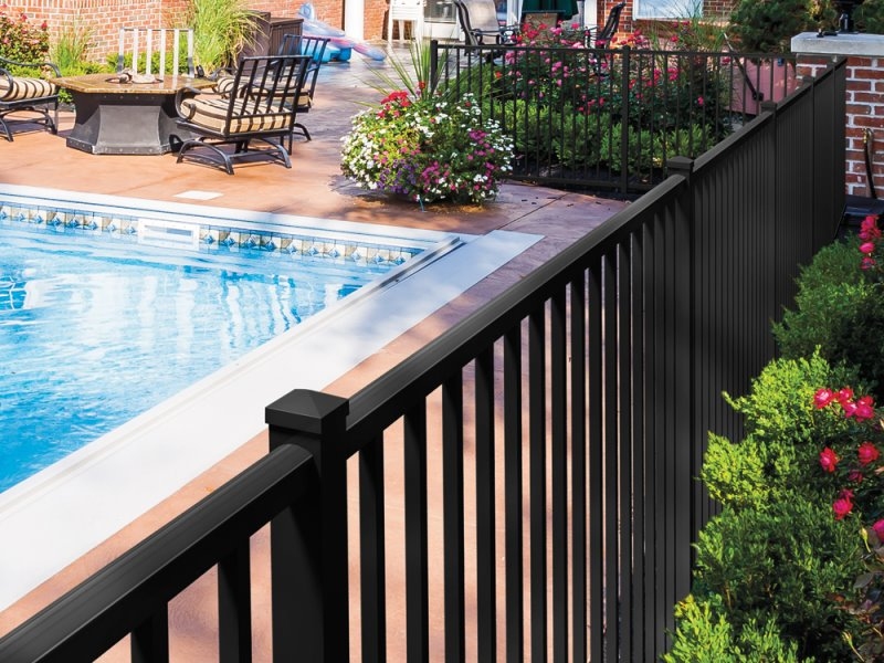 Massachusetts Aluminum fencing