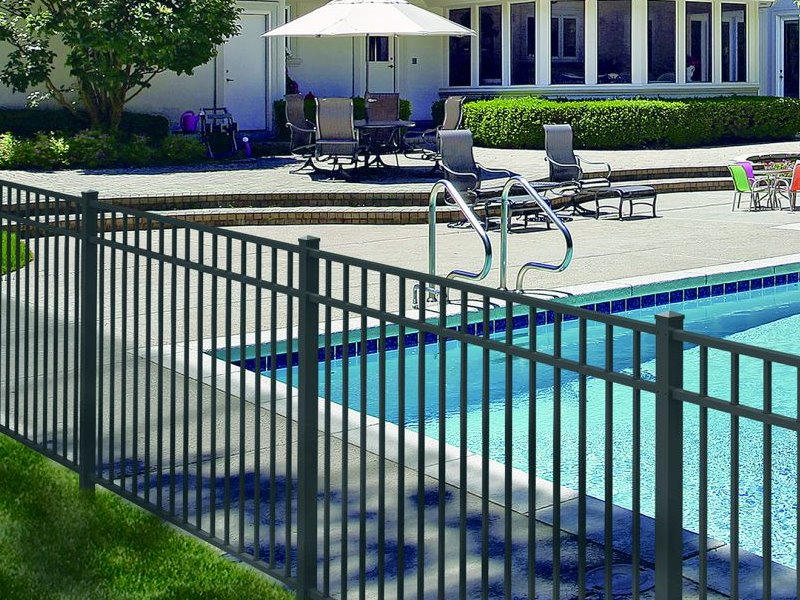 Residential Aluminum fencing in Massachusetts