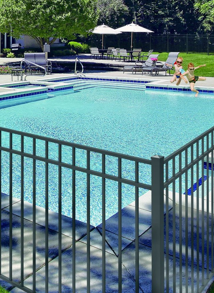 Pool fencing in Massachusetts